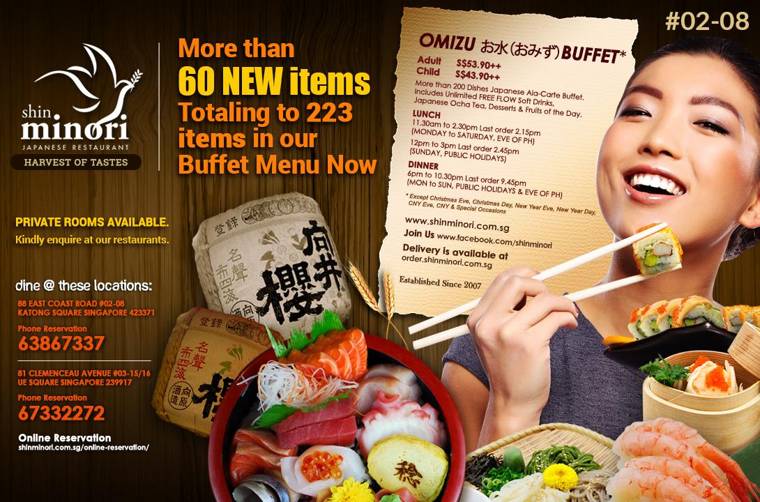 Shin minori Buffet