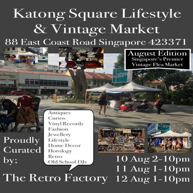 10th-12th AUG LIFESTYLE & VINTAGE MARKET