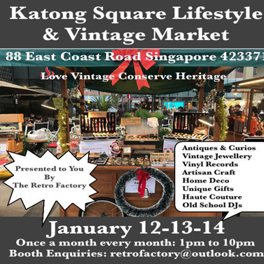 12TH-14TH JAN LIFESTYLE & VINTAGE MARKET