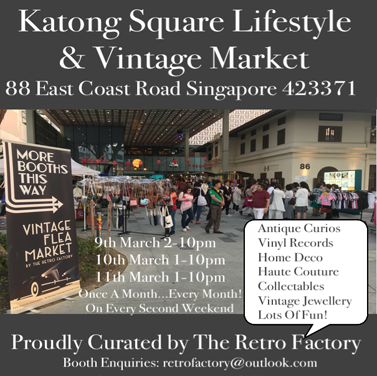 9th-11th MAR LIFESTYLE & VINTAGE MARKET